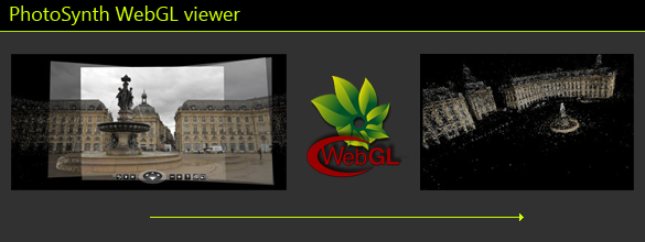 Google Chrome PhotoSynth WebGL Viewer extension